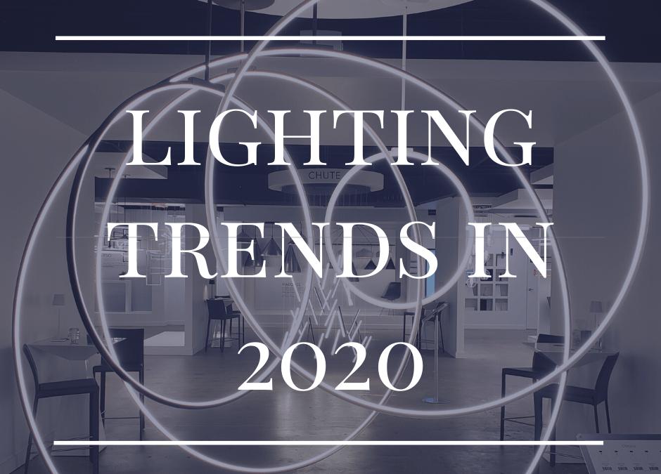 Lighting Trends in 2020