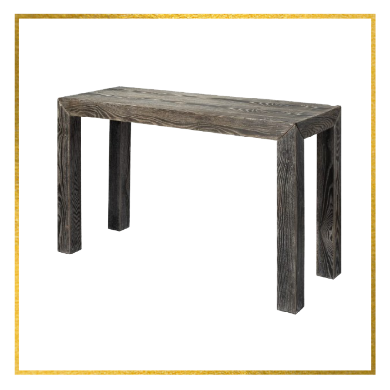 wood console table diva by design san benito texas