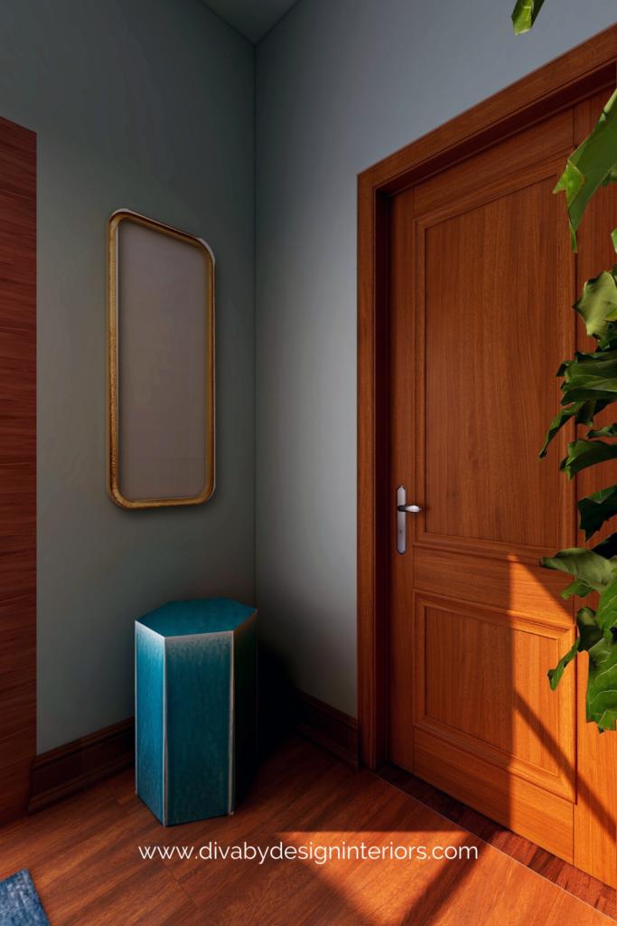 feng shui your front door gold mirror diva by design mcallen interior designer