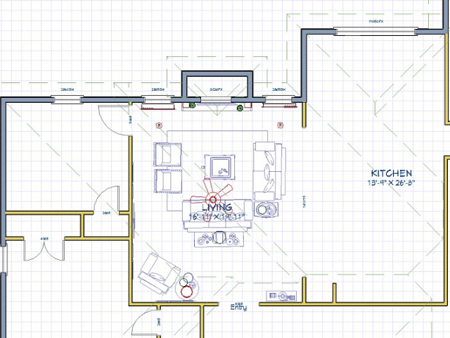 what is a design work session determine room function floor plan