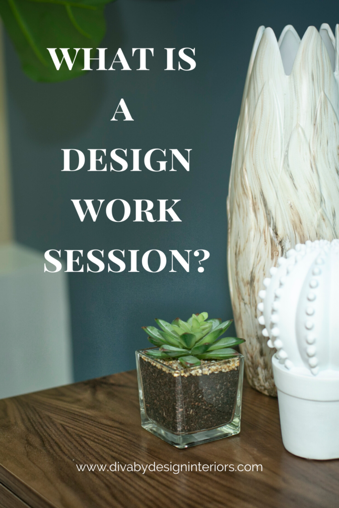 what is a design work session image for pinterest