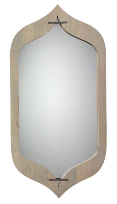 wood framed mirror for meditation area diva by design harlingen interior designer