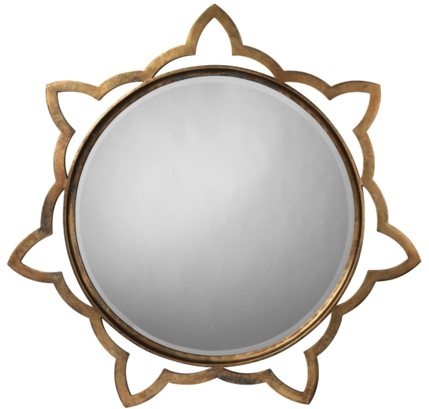 round wall mirror for good feng shui mcallen interior decorator