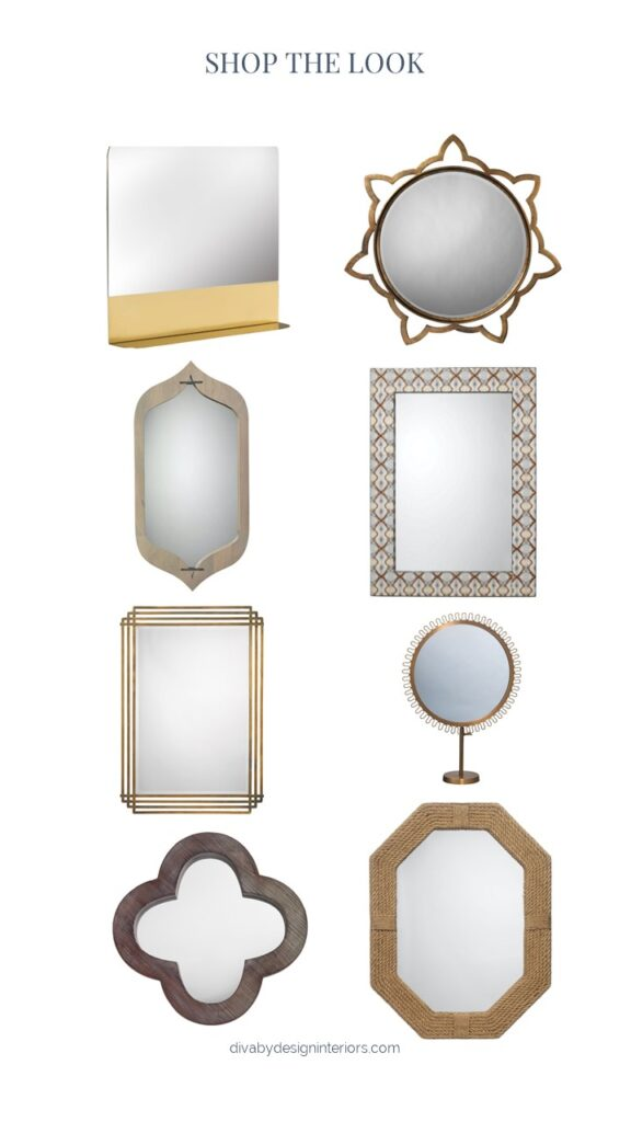 mirrors for good feng shui diva by design harlingen interior designer