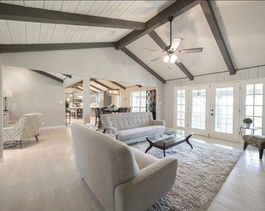 modern farmhouse living room materials selection service diva by design harlingen interior designer 78550 treasure hills