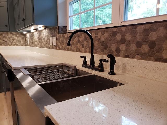 modern farmhouse kitchen backsplash materials selection service diva by design harlingen interior designer 78550 treasure hills