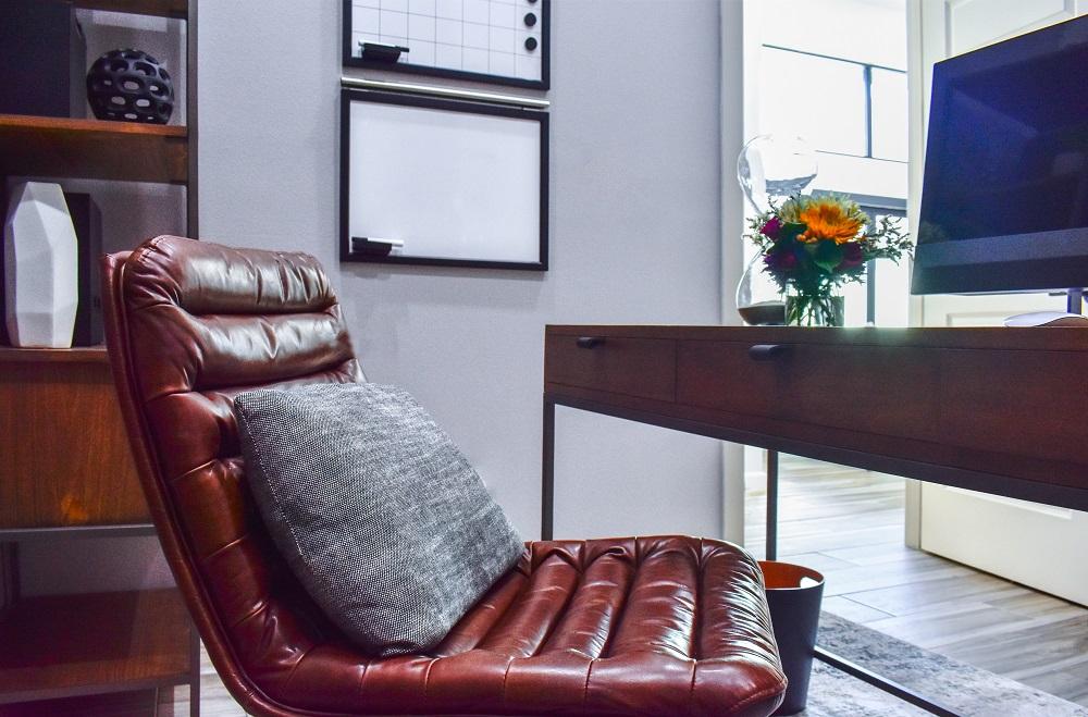 contemporary home office desk chair diva by design harlingen interior designer